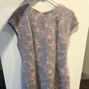 Mignon Doo Medium Pink & Gray Dress